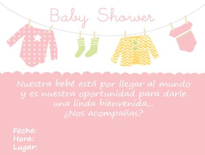 Baby Shower: invitaciones para imprimir Artículo Publicado el 31.12