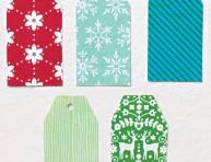 imagen Etiquetas para los regalos de navidad