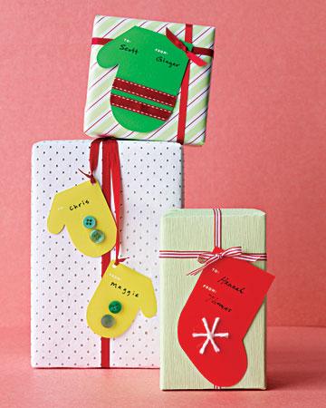 Ideas navideñas etiquetas para decorar tus regalos