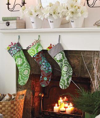 Manualidades navideñas botas de fieltro2