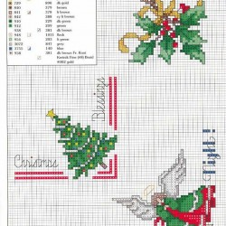Punto cruz_ bordaños navideños-03
