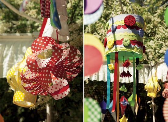 Colorida y divertida decoración para fiestas de niños3