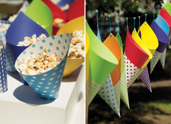 Colorida y divertida decoración para fiestas de niños5