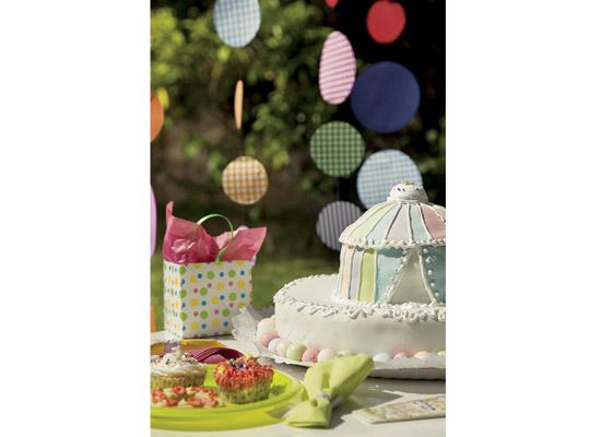 Colorida y divertida decoración para fiestas de niños7