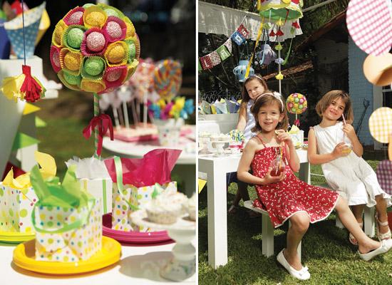 Colorida y divertida decoración para fiestas de niños6