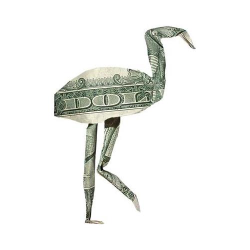 Origami formas increibles con un billete de un dólar13z