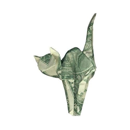 Origami formas increibles con un billete de un dólar16z