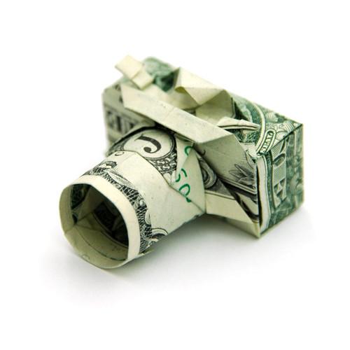 Origami formas increibles con un billete de un dólar17z