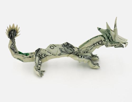 Origami formas increibles con un billete de un dólar20z