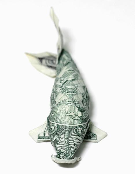 Origami formas increibles con un billete de un dólar21z