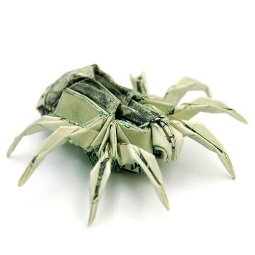 Origami formas increibles con un billete de un dólar23z