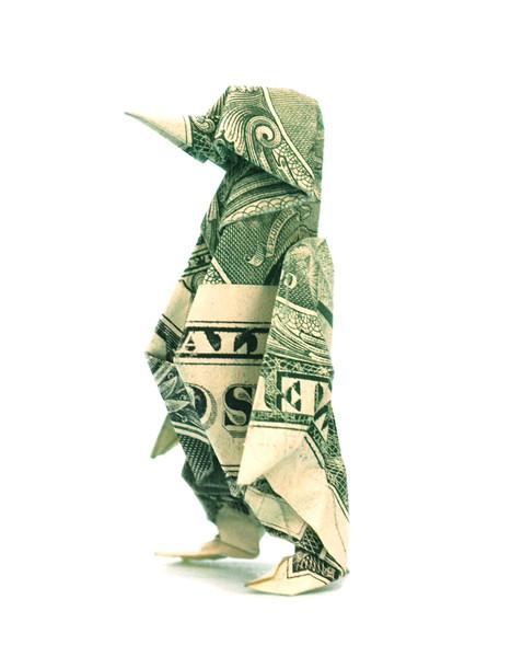 Origami formas increibles con un billete de un dólar24z