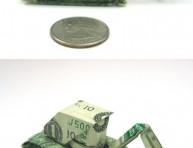 imagen Origami: formas increibles billete de un dólar – Segunda Parte