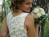 imagen Tejido a crochet: vestido de novia