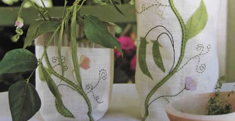 Cubremacetas para especias de lino-1