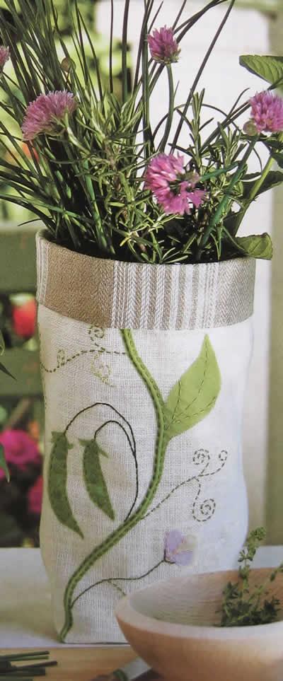 Cubremacetas para especias de lino-2