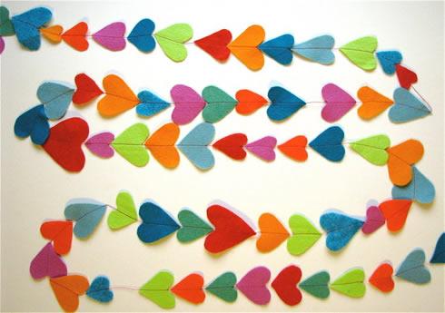 Guirnalda de corazones2