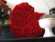 imagen Manualidades del Dia de los Enamorados: Corazón de fieltro