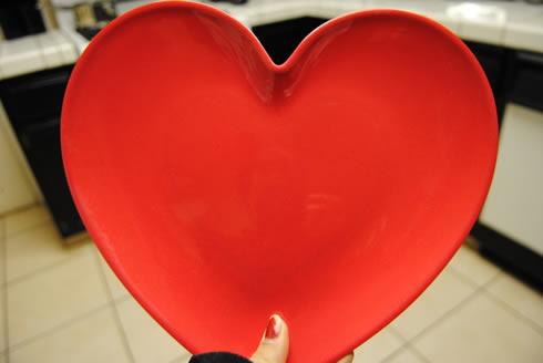 Manualidades del Dia de los Enamorados Corazón de fieltro muy romántico3