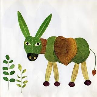 Manualidades para los peques_ animalitos con hojas naturales-03