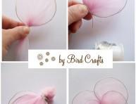 imagen Mariposas de tul para decorar