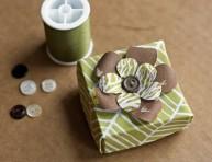 imagen Origami: caja de tela decorativa