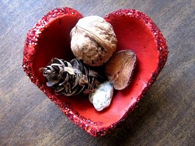Porcelana fría Adorno romántico con forma de corazón6