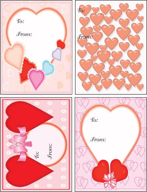 Tarjetas de san valent n para imprimir gu a de manualidades - Como hacer adornos de san valentin ...