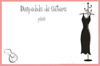 Tarjetas De Despedida De Soltera Para Imprimir Guía De