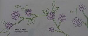 Un mantel bordado para la mesa de jardín-2