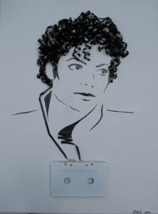 Increibles manualidades con cinta de cassettes-15