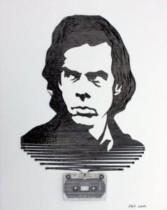Increibles manualidades con cinta de cassettes-23