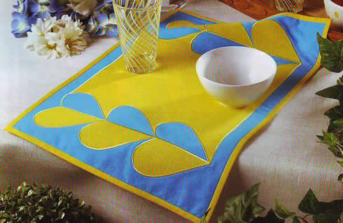 Individual de corazones para tu mesa1