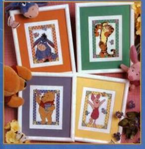 Winnie Pooh y sus amigos para tejer