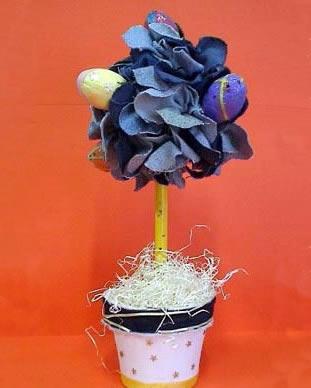 Arbol de pascuas para decorar la mesa-1