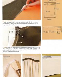 Elegante cortina para tu comedor paso a paso4