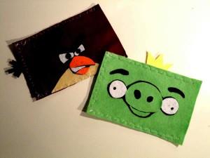 Haz tu funda de Angry Birds