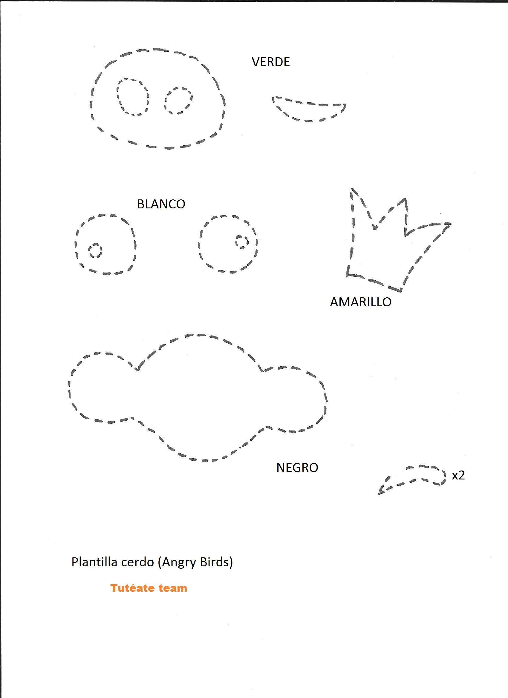 Vistoso Plantillas De Cerdo Regalo - Ejemplo De Colección De ...
