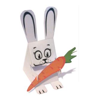 Manualidades con papel_ conejo de pascua-01