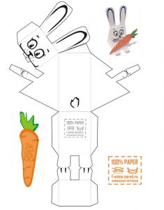 Manualidades con papel_ conejo de pascua-02