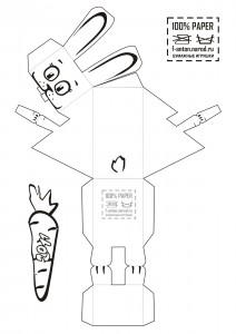 Manualidades con papel_ conejo de pascua-03