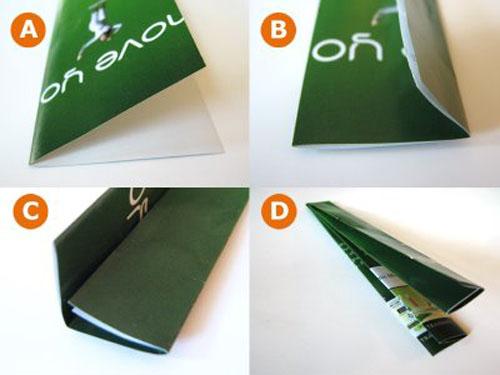 Reciclando revistas para hacer posavasos3