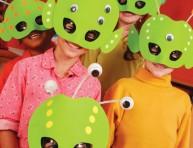 imagen Aliens: máscaras para hacer en casa
