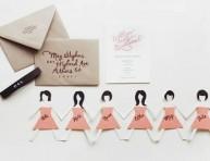 imagen Invitaciones para madrinas de casamiento
