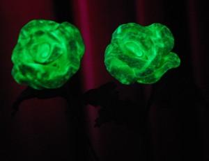 Manualidades con goma eva flores fosforescentes2