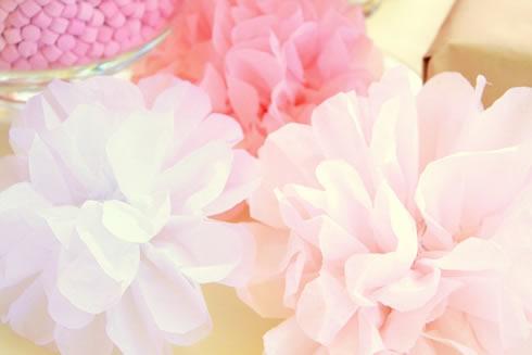 Pompones de papel para decorar2