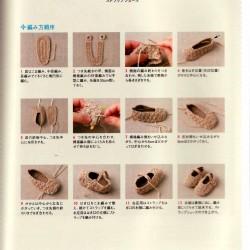 Tejido a crochet tiernos escarpines4