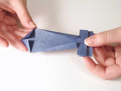 Dia del Padre: tarjeta de papel con una corbata - Guía de MANUALIDADES