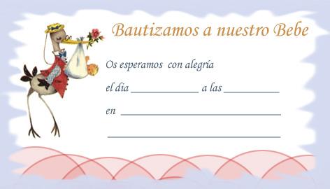 Tarjetas de recordatorio de bautizo para imprimir gratis - Imagui