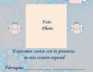 imagen Ideas para bautismo: tarjetas para imprimir